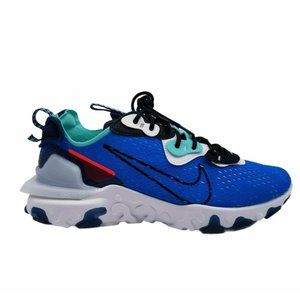 Nike Mens React Vision Lace Up Photo Blue Shoes 10
